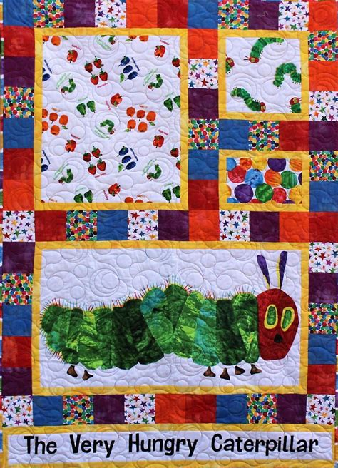 Hungry Caterpillar Quilt Kit by Baby