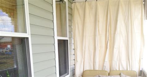 Picture Curtains Kicking Amp Crafting Diy Outdoor Curtain
