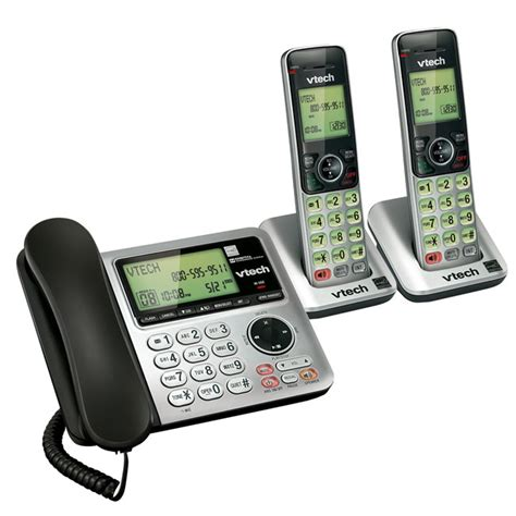 vtech cs6649 2 dect 6 0 2 handset landline