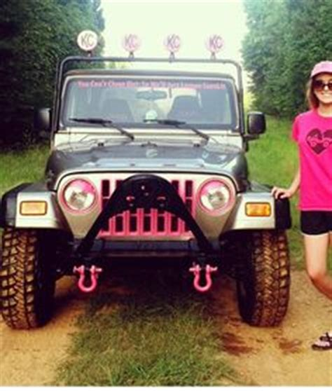 Pink Jeep Wrangler Accessories Jeep Accessories On Jeep Wranglers Jeeps And