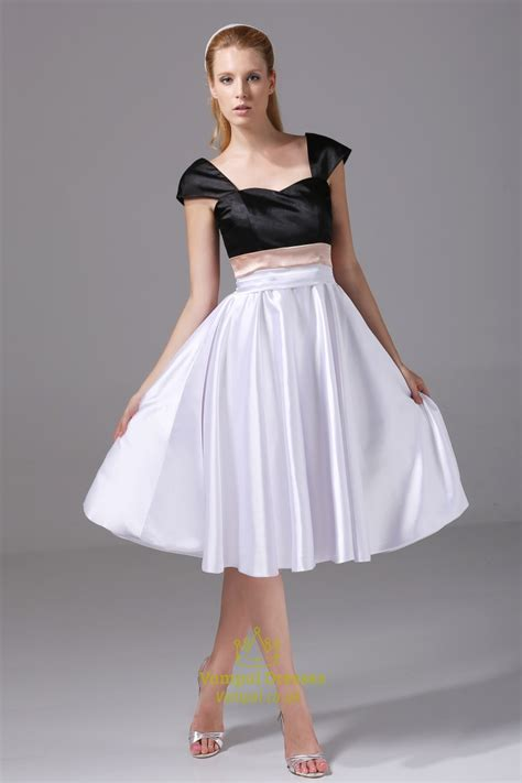Sle Wedding Dresses Uk by White And Black Homecoming Dresses Cocktail Dresses With