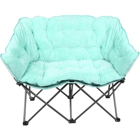 plush saucer chair mainstays plush loveseat chair available in