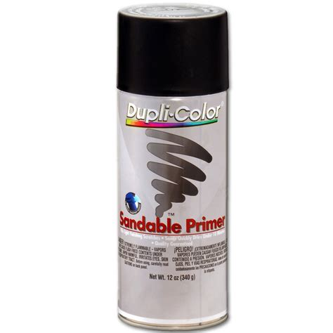 dupli color black dupli color dap1698 black sandable primer