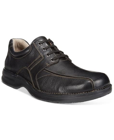 clarks comfort shoes clarks men s northfield bike toe comfort shoes in black