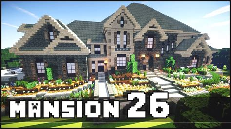 Modern Tudor House by Minecraft Mansion 26 Youtube