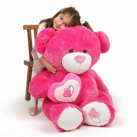 Giant Teddy Bears | Big Teddy Bears | Giant Stuffed ... Giant Pink Teddy Bear