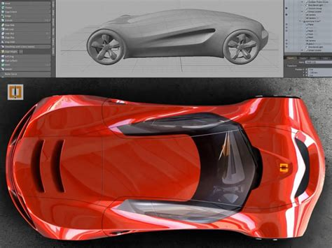 zbrush tutorial car modeling a concept car in zbrush 4r6 car body design