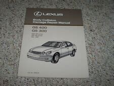 free service manuals online 1998 lexus gs parental controls lexus gs300 repair manual ebay