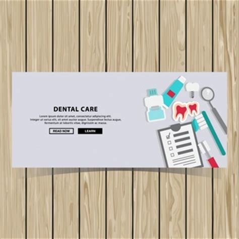 banner design for dental clinic web templates vectors 2 500 free files in ai eps format