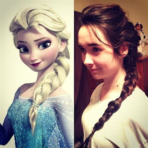 Hairstyles For Frozen by Hair Styles From Disney S Frozen Popsugar Australia