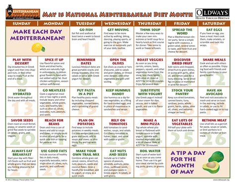 Pdf Mediterranean Diet Plan Healthy Recipes by Mediterranean Diet Monthly Calendar Http Www