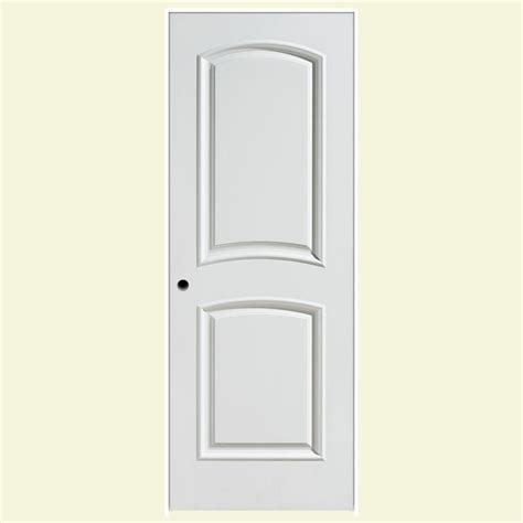 Masonite 24 In X 80 In Palazzo Bellagio Smooth 2 Panel Prehung Doors Interior