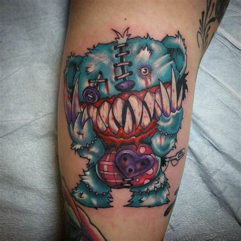teddy bear tattoos designs evil teddy tattoos