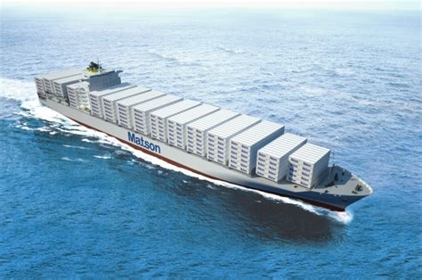 matson orders dual fuel container ships joccom