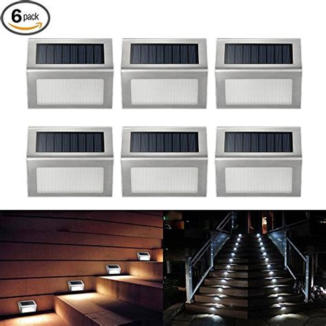 battery powered stair lights outdoor elecctv solar lights led solar powered stair lights