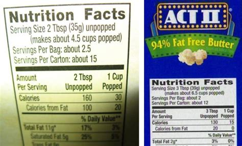 carbohydrates in popcorn nutrition does popped popcorn less calories than