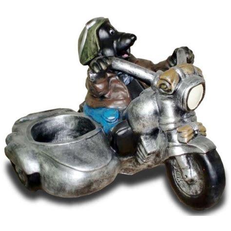Deko Motorrad Mit Beiwagen by Deko Figur Maulwurf Auf Motorrad Mit Beiwagen