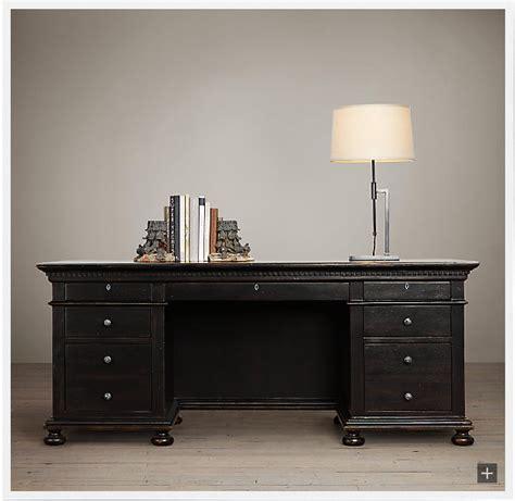 restoration hardware style oak desk ecustomfinishes