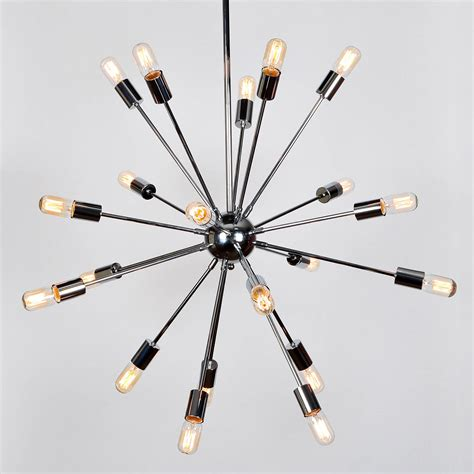 Lights Com Ceiling Lights Chandeliers 20 Light Sputnik Pendant Light