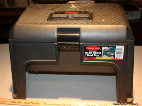 Step Stool Toolbox by Rubbermaid Step Stool Tool Box