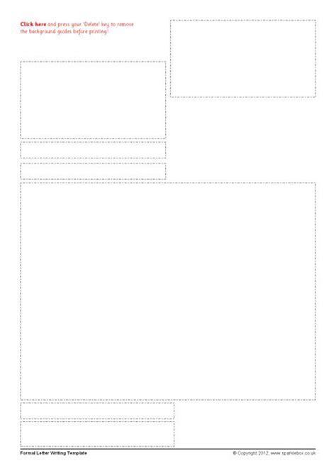 Editable Formal Letter Typing Frames Sb7946 Sparklebox Letter Template Sparklebox