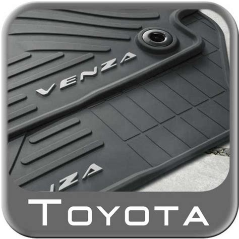 Toyota Venza Floor Mats All Weather 2015