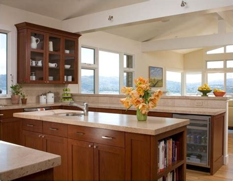 Limestone Countertops Kitchen by Kitchen Countertop Options Pros Cons Centsational Style