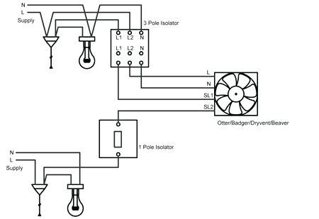 wiring diagram for bathroom fan with timer wiring