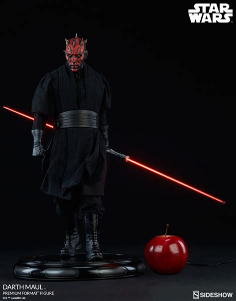 Premium C wars darth maul premium format tm figure by sideshow c sideshow collectibles