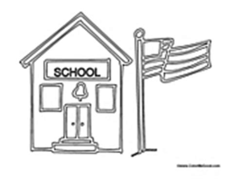 coloring pages for school building school building coloring pages