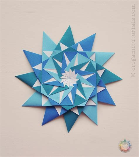 Modular Origami Tutorial - 756 best images about origami on