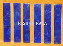 semi precious stone tiles  borders natural blue agate