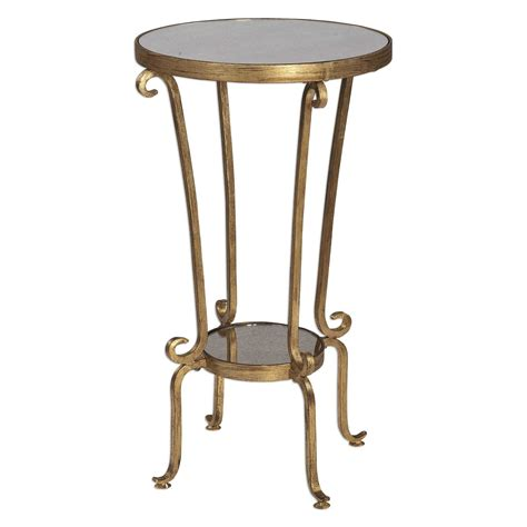 uttermost accent table uttermost vevina round accent table