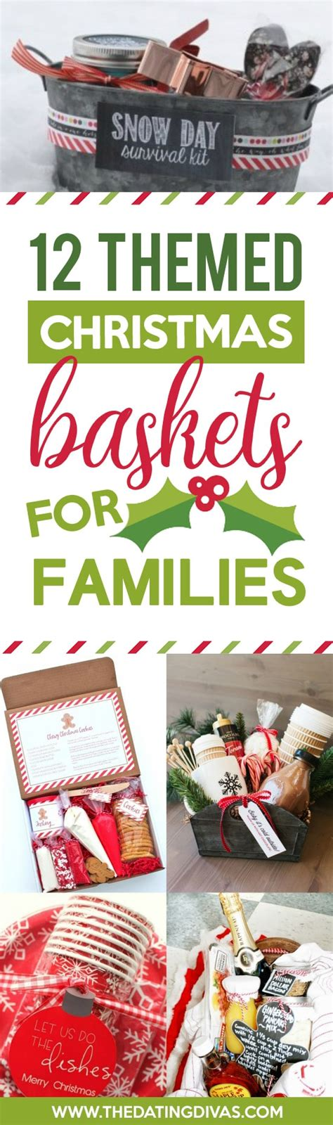 gifts for the family 50 themed christmas basket ideas the dating divas