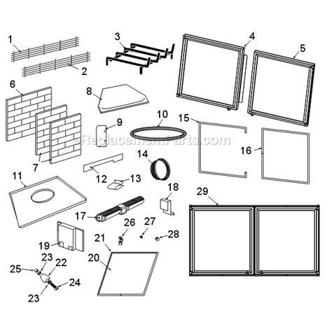 majestic bfc36 parts list and diagram ereplacementparts com