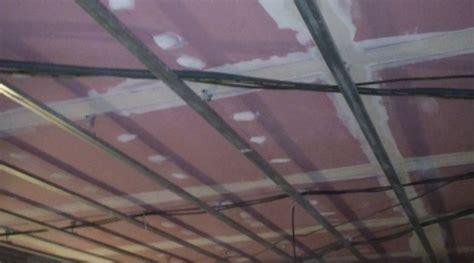 faux plafond coupe feu r 233 alisation d un plafond coupe feu dans un bar 224 nantes