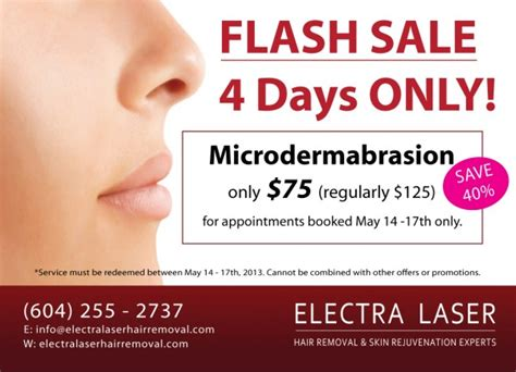 microdermabrasion flash sale