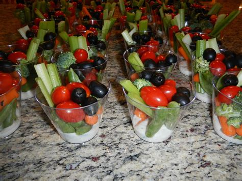 creative bridal shower appetizers individual vegies and dip recipes appetizers finger foods finger foods