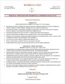 Examples Of Paralegal Resumes Litigation Paralegal Resume Template Http Www