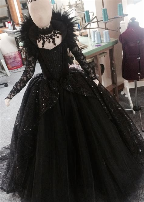 Lamia Dress Emmaqueen limited edition evil costume gown by elladynae evil