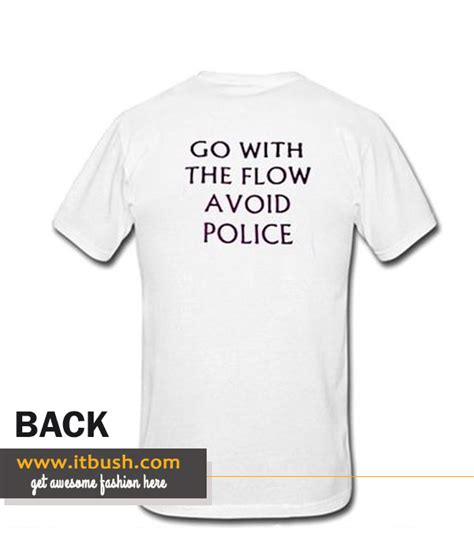 Tshirt Avoid go with the flow avoid t shirt