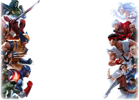 Marvel L by Series Crossovers Images Marvel Vs Capcom Hd Wallpaper
