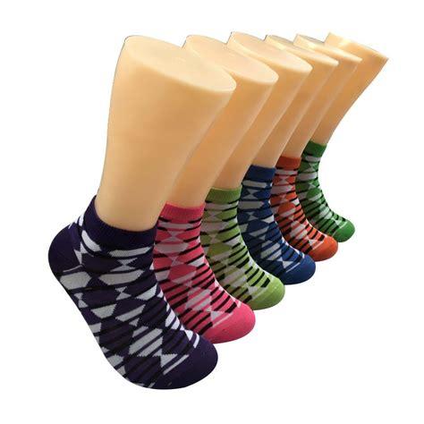 bulk patterned socks wholesale women s patterned low cut ankle socks at