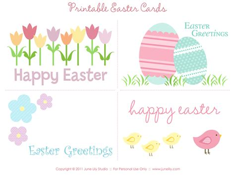 printable children s easter cards printable easter cards june lily design illustration