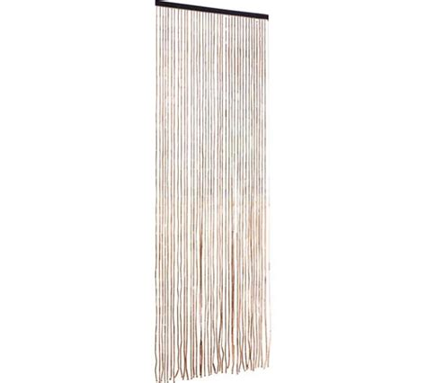argos beaded curtains buy home beaded door curtains 91x190cm natural at