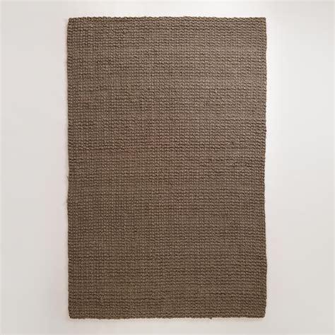 basket weave jute rug charcoal basket weave jute rug world market