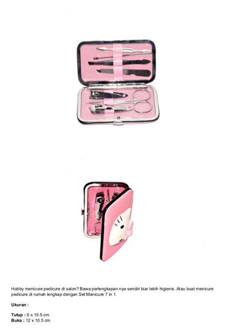 Manicure Set Karakter Hello set pemotong kuku karakter hello