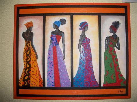 imagenes de negras para imprimir pintura a 211 leo cuadros africanos
