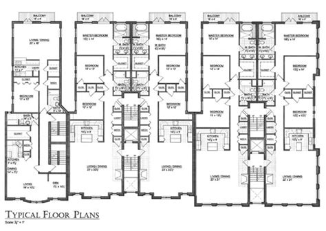 mixed use floor plans mixed use floor plans