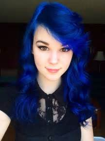blue hair colors 25 best ideas about royal blue hair on